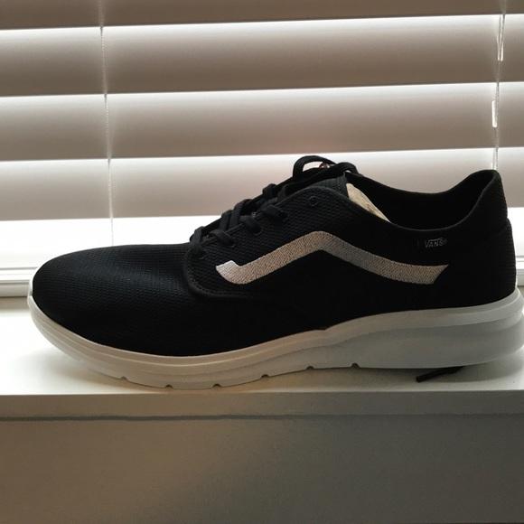 428b39c4653 Vans ISO 2 (Mesh) Black Shoes BRAND NEW